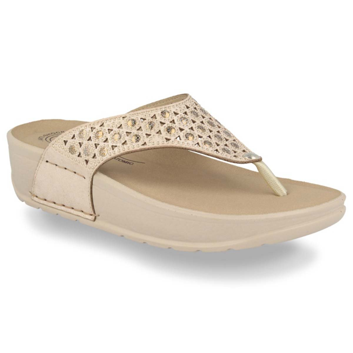 See photos Synthetic Woman Slipper Beige (38C44A2)