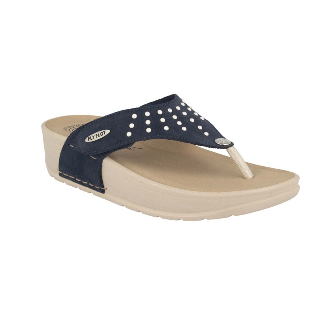 See photos Leather Woman Slipper Blue (38C80S2)