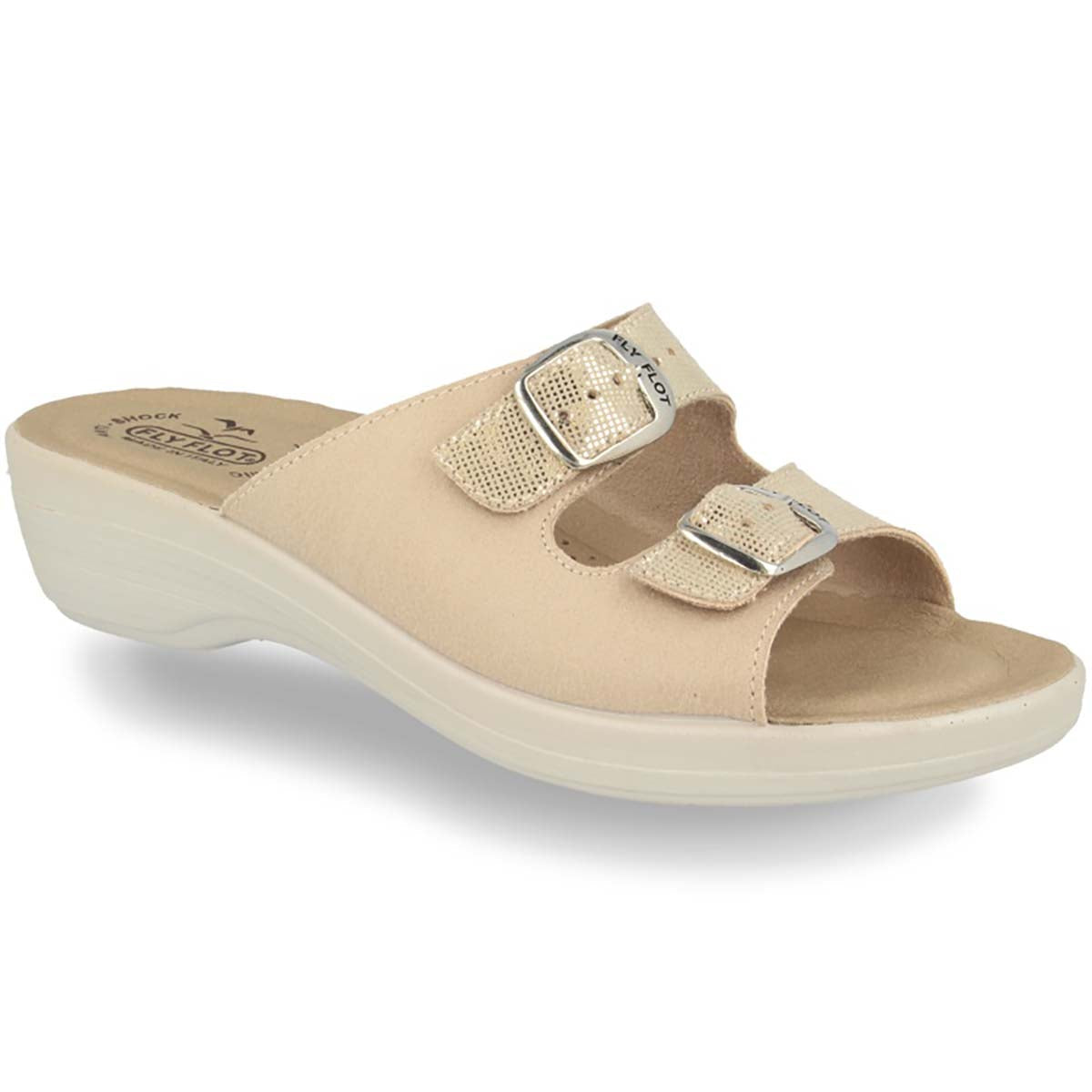 See photos Cloth Woman Slipper Beige (T5C336B)