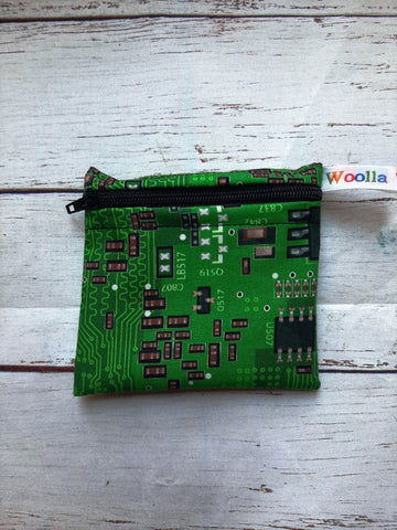 Electronic Circuits - Pippins Poppins Pouch Snack Pouch, Coin Purse, Ear Bud Case