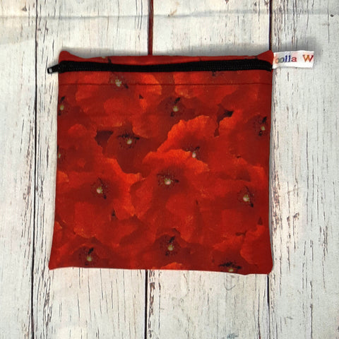 Real Poppy - Small Poppins Pouch Washable Snack Bag