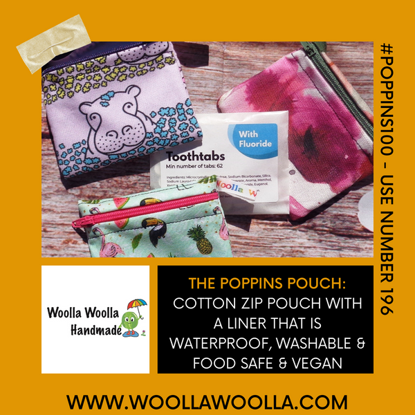 Baking Cake 2 - Pippins Poppins Pouch Snack Pouch, Coin Purse, Ear Bud Case