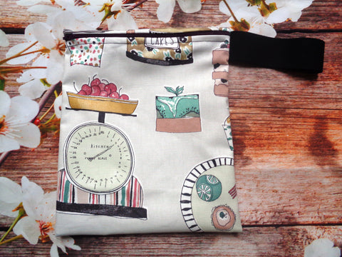 Baking Kitchen Home Handy Poppins Pouch Lunch Bag, Clutch