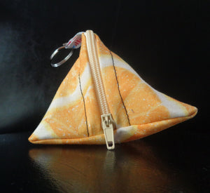 Orange slices - Tri-Keyring Poppins Pouch