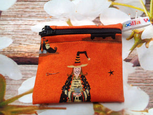 Witch Wizard - Pippins Poppins Pouch Snack Pouch, Coin Purse, Ear Bud Case