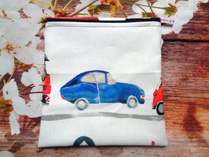 On The Road  2 Seater - Large Poppins Pouch - Waterproof, Washable, Food Safe