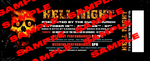 Hell Night Tickets - October 19th @ 5pm - PREFERRED SEATING