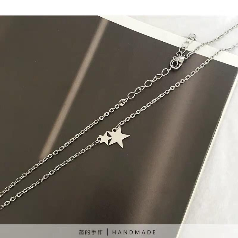 Handmade Silver Star Necklace