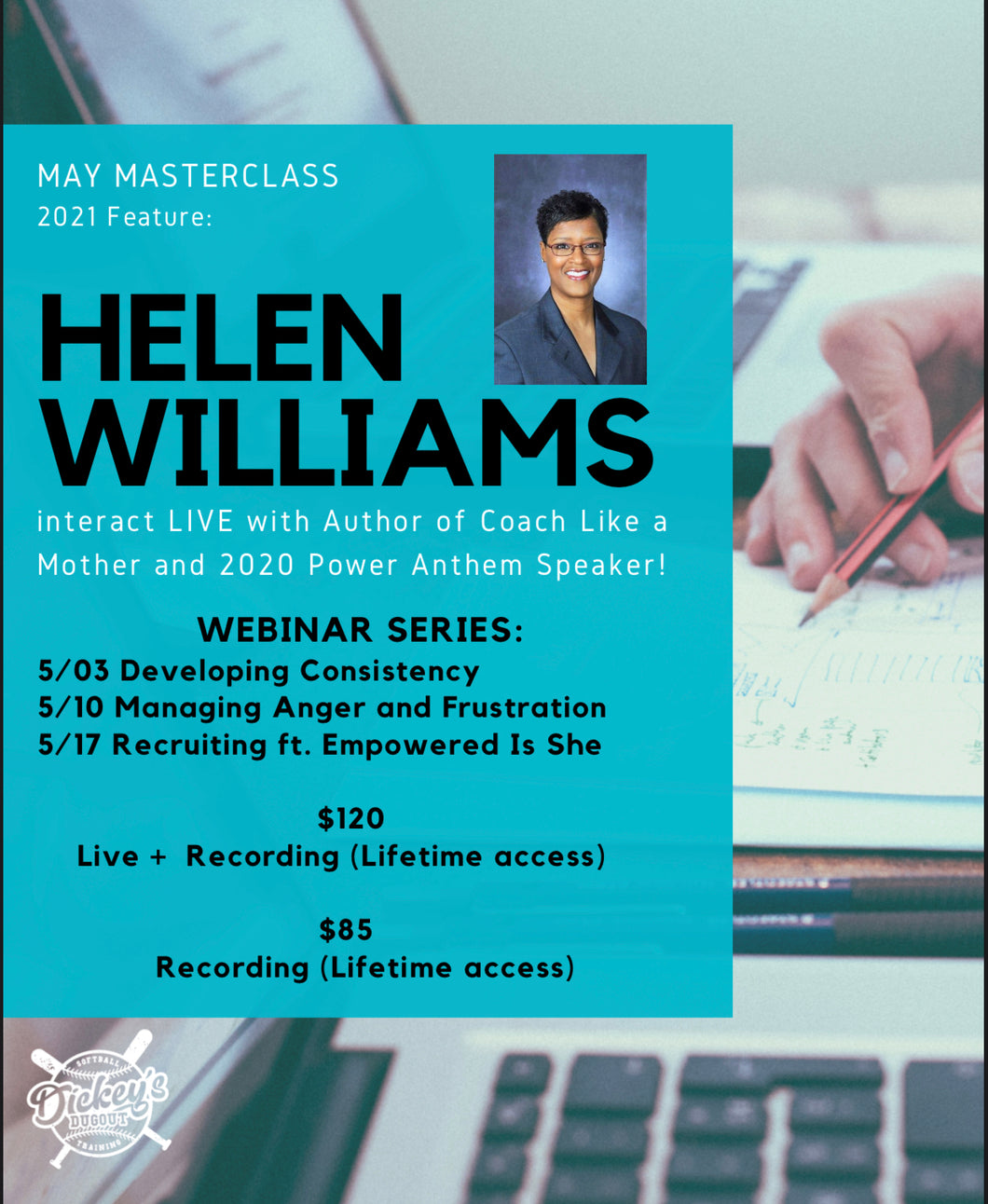MAY MASTERCLASS (Live + Lifetime Access)