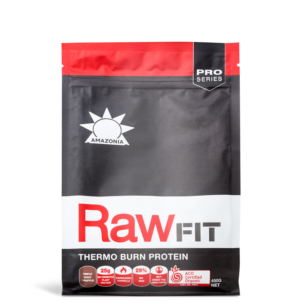 KETO RAWFIT THERMO BURN PROTEIN TRIPLE CHOCOLATE CARAMELO