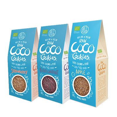 Coco Cookies Tasting Pack (Pack of 9, 3 of each flavour)