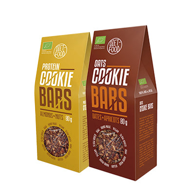 Cookie Bars Tasting Pack of 12 (6 of each flavour)