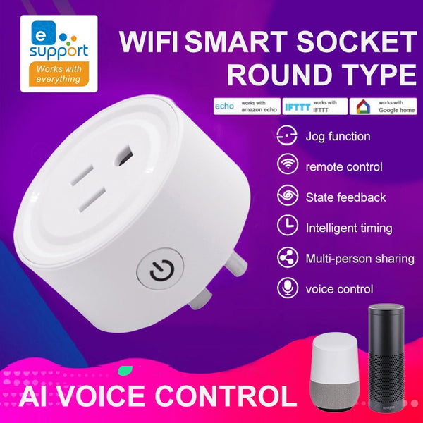 UK / US Plug Wifi Smart Plug