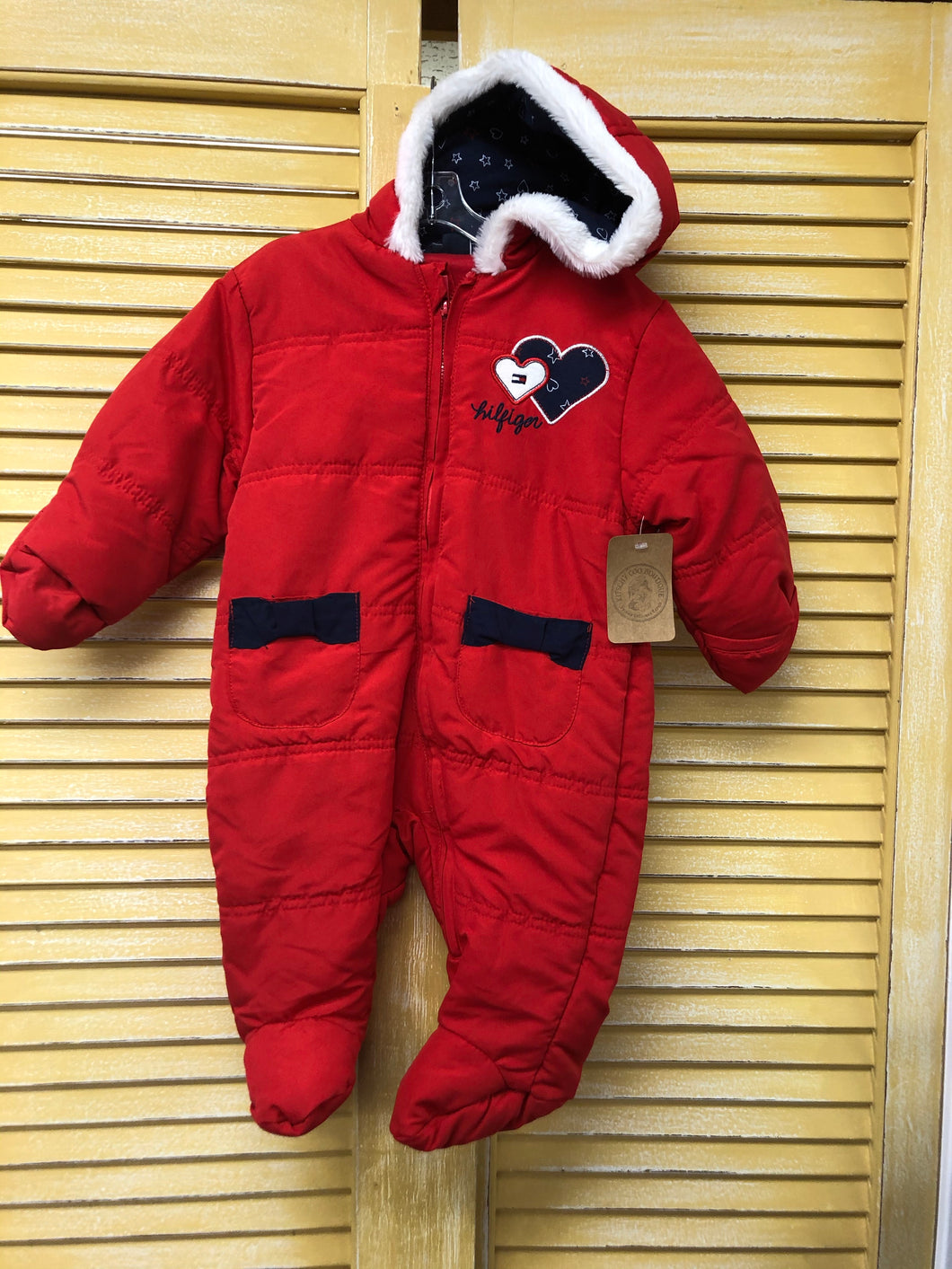 Girls 6-9m Tommy Hilfiger Bunting IN140