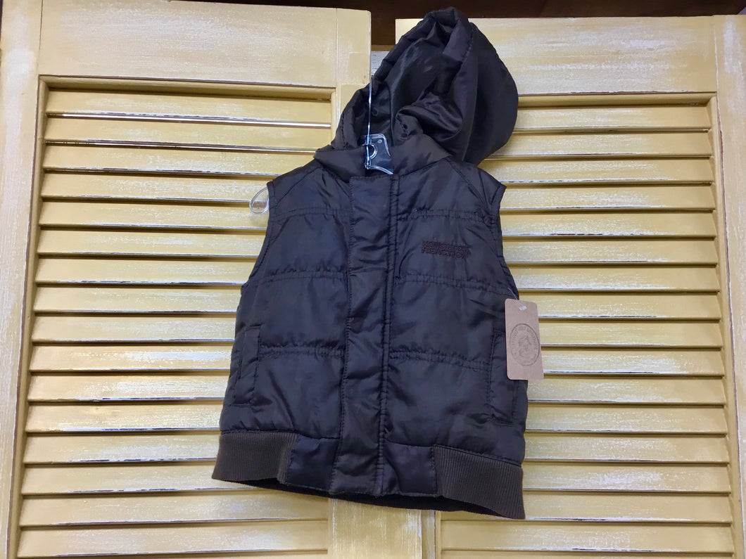 Boys 6-9m Brown Vest IN298
