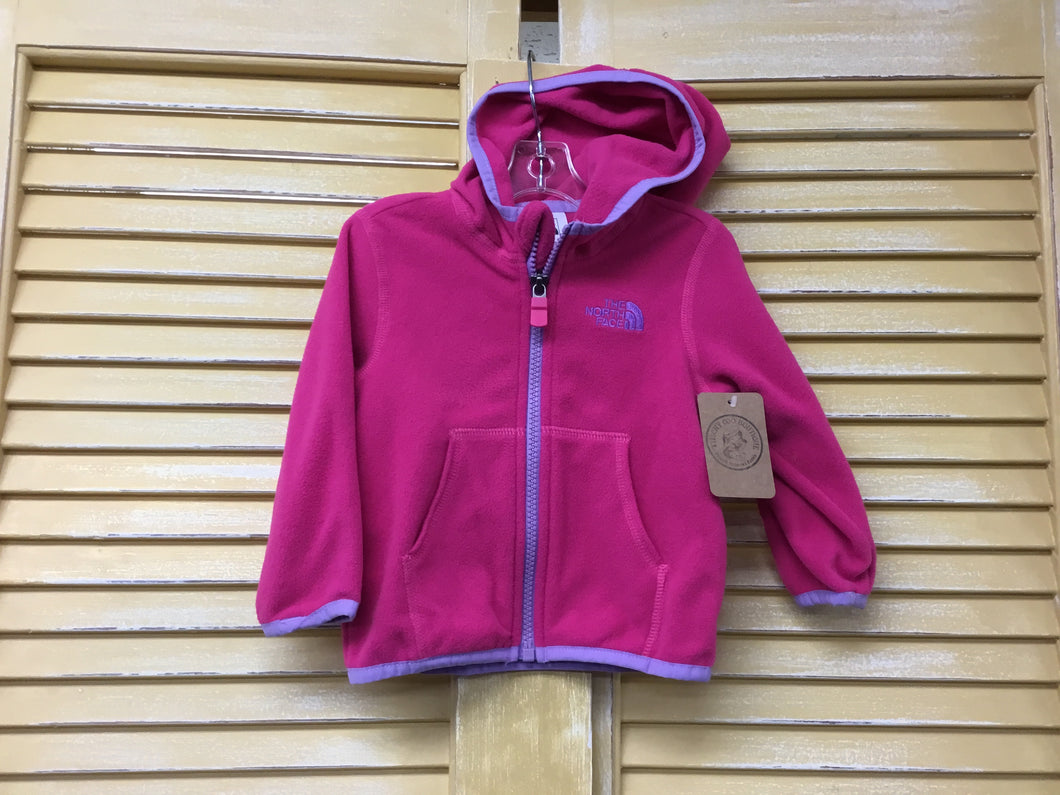 Girls 6-12m North Face Hoodie