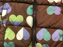 Load image into Gallery viewer, Girls 8 Heart Puff Vest