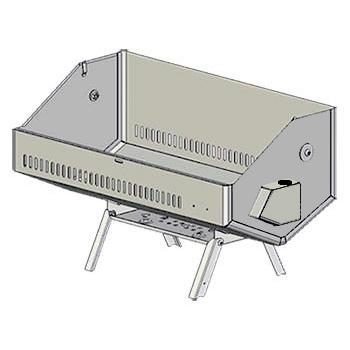 Lower Shell Assembly, Catalina 2 Gas Grill