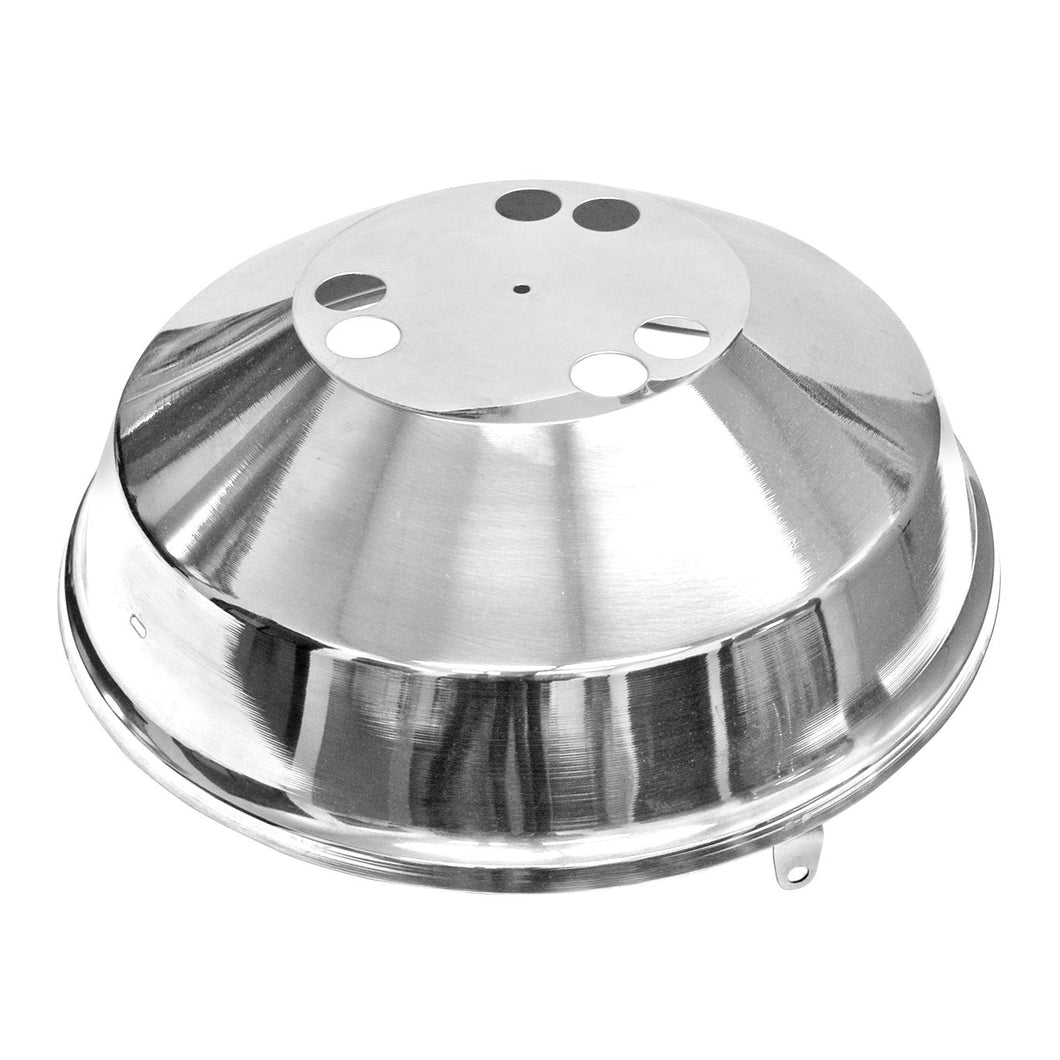 Lid w/ Hinge & Fasteners, A10-215 Marine Kettle Gas Grill, Party Size