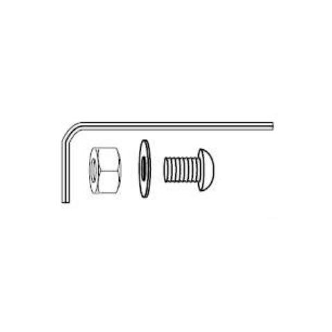 Lid Hinge Fasteners w/ Wrench, Connoisseur Series Gas Grill