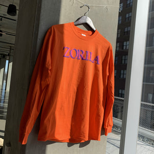 Band Logo Orange LS Tee