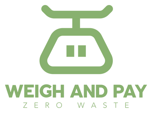 weigh and pay zero waste brixton logo