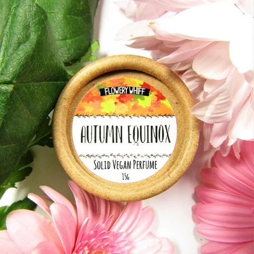 autumn equinox solid vegan perfume