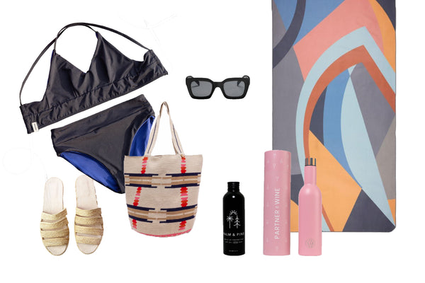 sustainable summer beach outfits