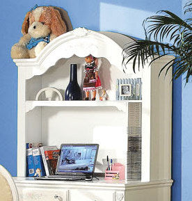 Acme Flora Desk Hutch in White 01688 image