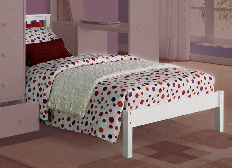 Acme Freya Twin Bed in White 37152 image