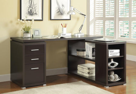 Yvette Cappuccino Executive Desk image