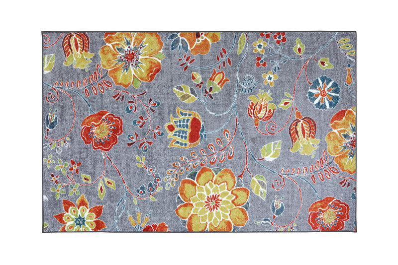 Greenville Floral Multi 5' X 8' Area Rug image
