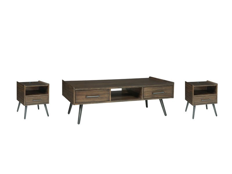 Calmoni Signature Design 3-Piece Occasional Table Set image