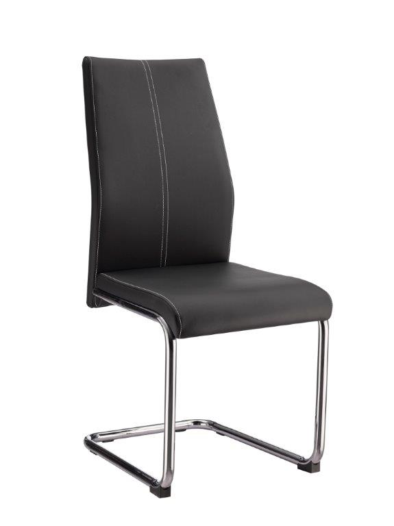 Global Furniture D41DC Dining Chair in Black D41DC-BL (Set of 2) image
