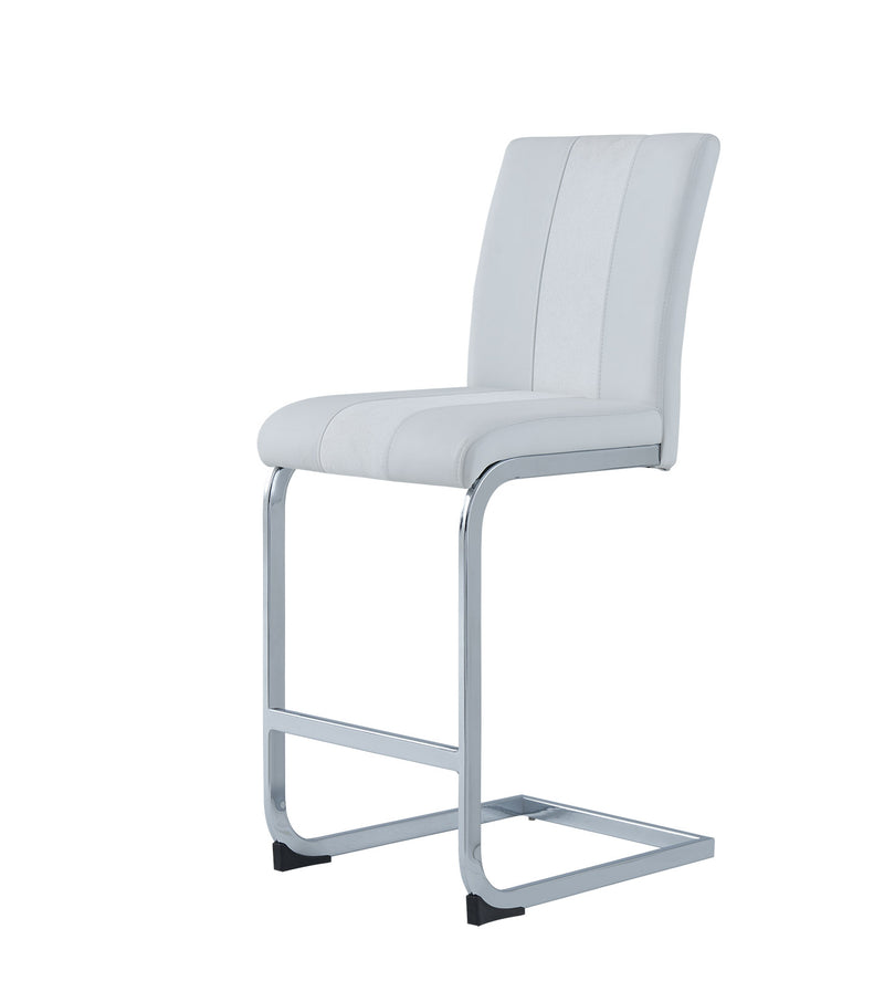 Global Furniture D915 Bar Stool in White D915BS-WH (Set of 2) image