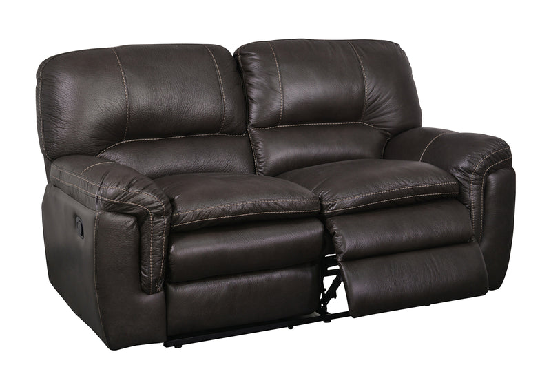 Global Furniture U8305 Reclining Loveseat in Gin Rummy Seal image