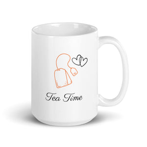 Tea Time - White Mug (15oz)