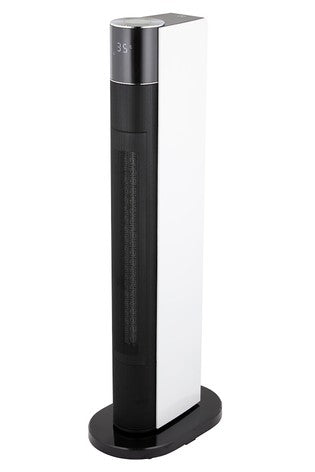 2.2KW 33 Inch PTC Tower Heater Digital Display by Black & Decker - Black