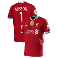 Liverpool 2020/21 Alisson Home Jersey