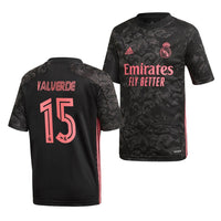 Real Madrid 2020/21 Federico Valverde Third Jersey