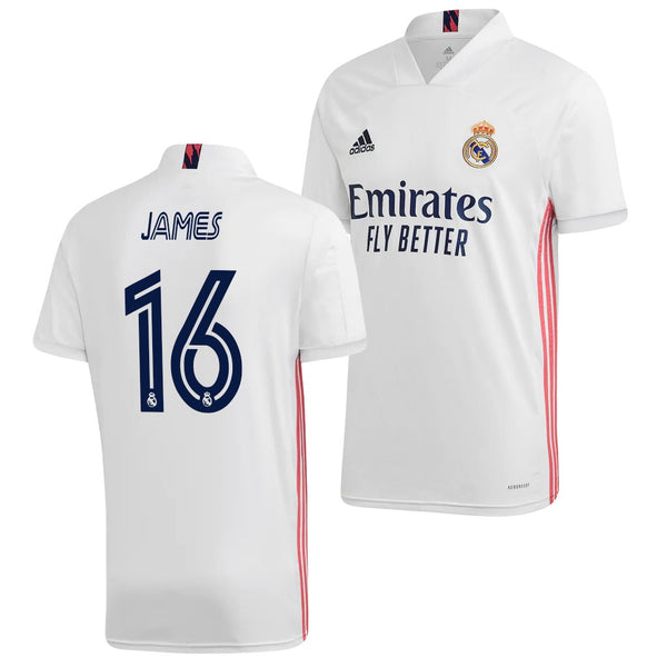 Real Madrid 2020/21 James Rodriguez Home Jersey