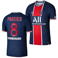 Paris Saint Germain 2020/21 Leandro Paredes Home Jersey