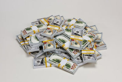 Play Money for Props in 100 Dollar bill