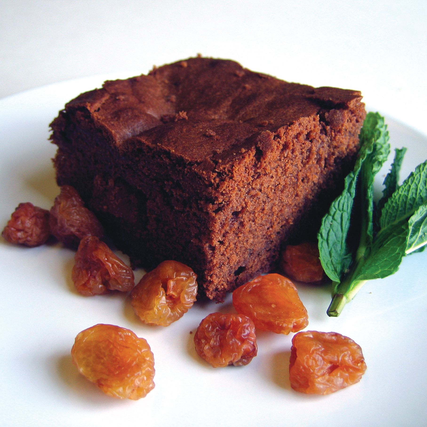 Chocolate Cherry Cake image