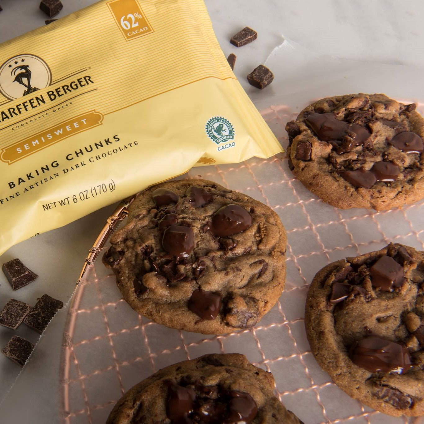 Alice Medrich's Chocolate Chunk Cookies image