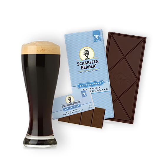 Bittersweet Chocolate Paired with Stout