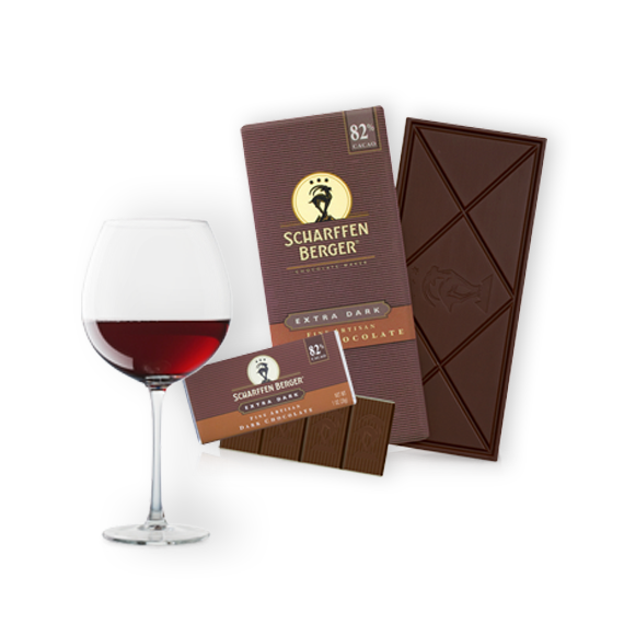 Extra Dark Chocolate Paired with Amarone