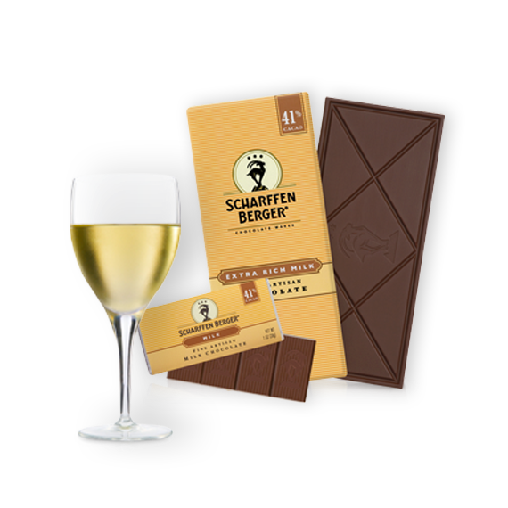 Milk Chocolate Paired with Sauvignon Blanc