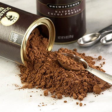 100% Unsweetened Dark Chocolate Cocoa Powder- product carousel image