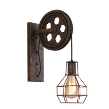 "Load image into Gallery viewer, ""The Pulley"" Retro Wall Lamp"